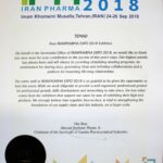 ⦁ Iran Pharma Event 2018